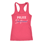 Women's Police Girlfriend - Racerback Tank Top