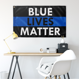 Blue Lives Matter Flag - Version 9