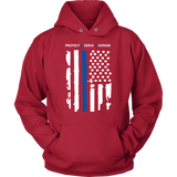 """Protect - Serve - Honor"" - Hoodie"