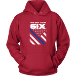 """We got your 6IX (Six)"" - Thin Blue Line Hoodies"