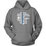 """Remember"" - Thin Blue Line Hoodie"
