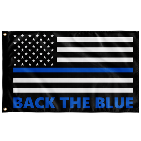 Back the Blue Flag - Version 3