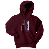 "Youth ""Thank You"" Thin Blue Line Hoodie - Kids"