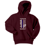 "Youth ""Honor Respect"" Hoodie - Kids"