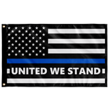 United We Stand - Thin Blue Line Flag - Version 1