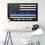 Blue Lives Matter Flag - Version 7