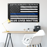 Blue Lives Matter Flag - Version 10
