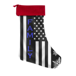 FAMILY - Thin Blue Line - Christmas Stocking