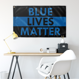 Blue Lives Matter Flag - Version 4
