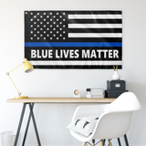 Blue Lives Matter Flag - Version 6