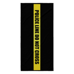 Police Line Do Not Cross - Beach Towel