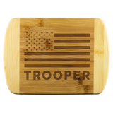 Trooper - Wood Cutting Board
