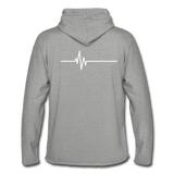 Train Hard or Go Home - Unisex Lightweight Terry Hoodie - Hawk Supplements
