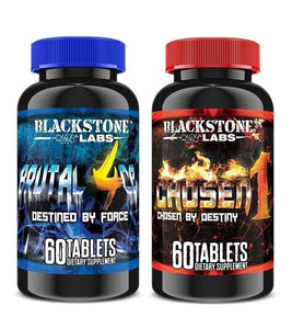 Blackstone Labs Chosen 1 + Brutal 4ce Combo kit