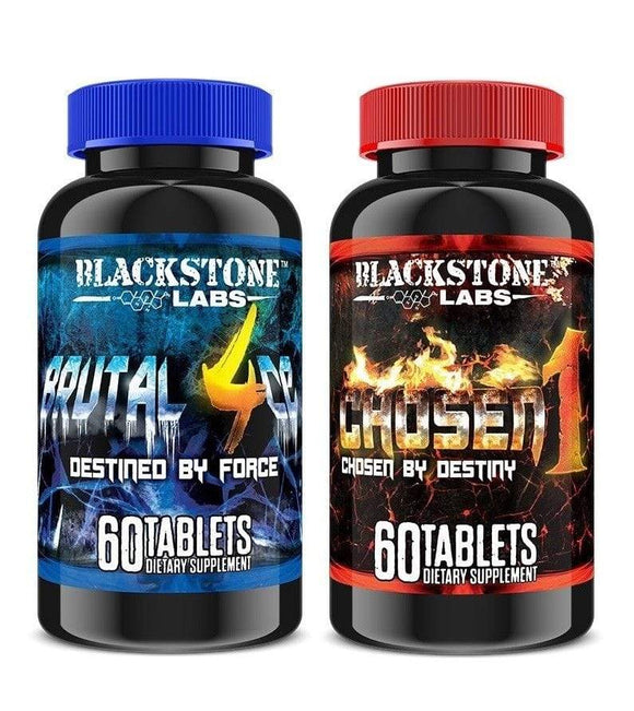 Blackstone Labs Chosen 1 + Brutal 4ce Combo kit - Hawk Supplements