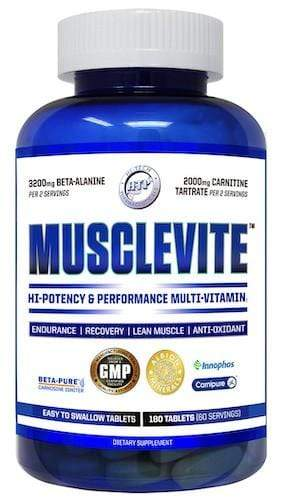 Hi Tech MuscleVite, 180 Tablets - Hawk Supplements