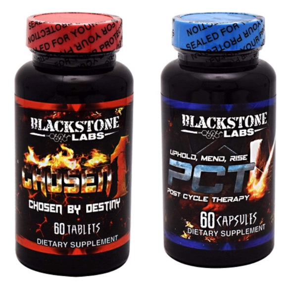Blackstone Labs Chosen 1 & PCT V Muscle Building Stack - Hawk Supplements