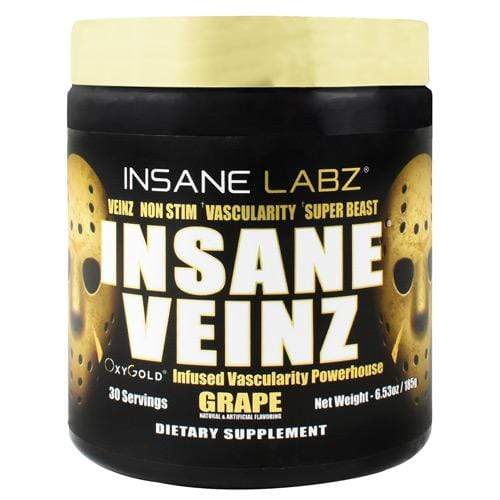 Insane Veinz, 30 Servings - Gold Edition