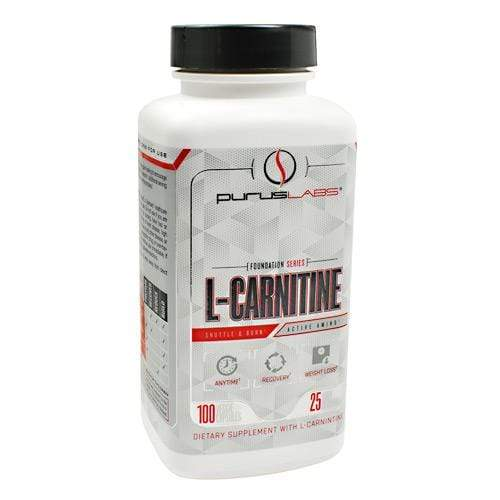 Purus Labs L-CARNITINE, 100 Capsules - Hawk Supplements