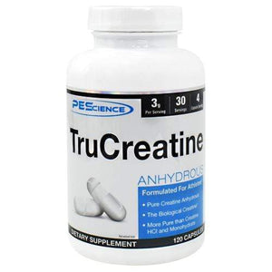 PEscience Trucreatine, 120 Capsules - Hawk Supplements