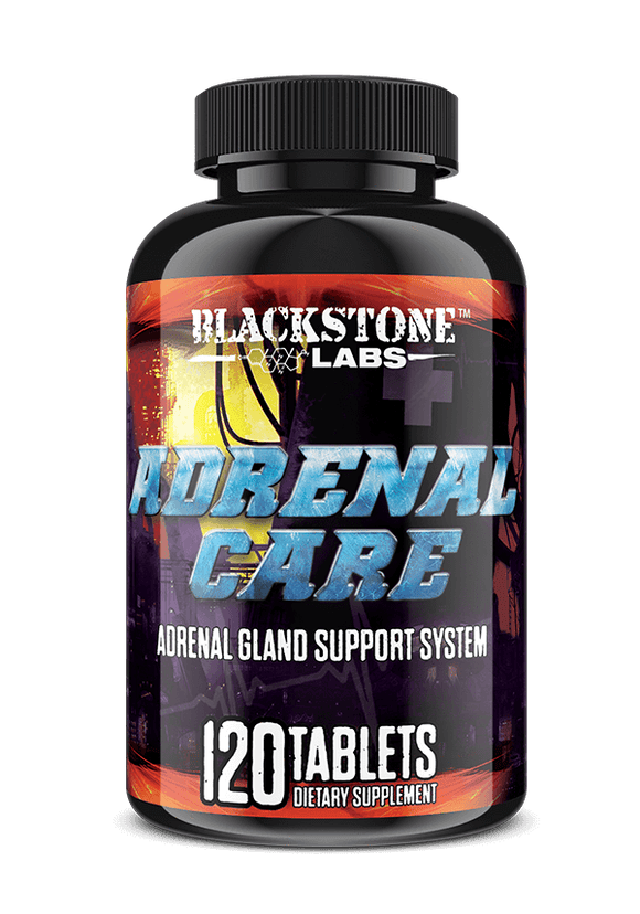 Blackstone Labs Adrenal Care 120 Tablets - Hawk Supplements