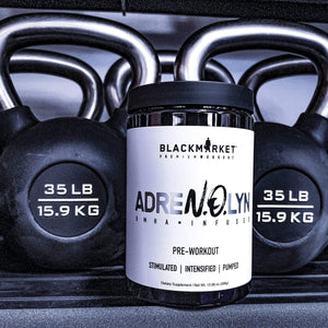 Black Market Labs Adrenolyn, 25 Servings - DMHA