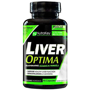 NutraKey Liver Optima, 90 Capsules - Hawk Supplements