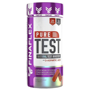 FinaFlex Pure Test, 120 Capsules - Hawk Supplements