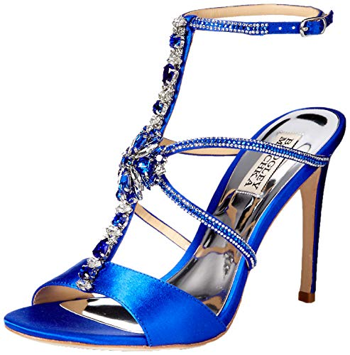 Badgley Mischka Women's Faye Heeled Sandal African Blue 8 M US - NLBoutique