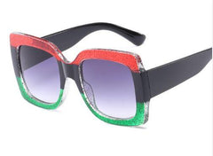 gucci inspired sunglasses red green black shades pan african eye glasses cheap