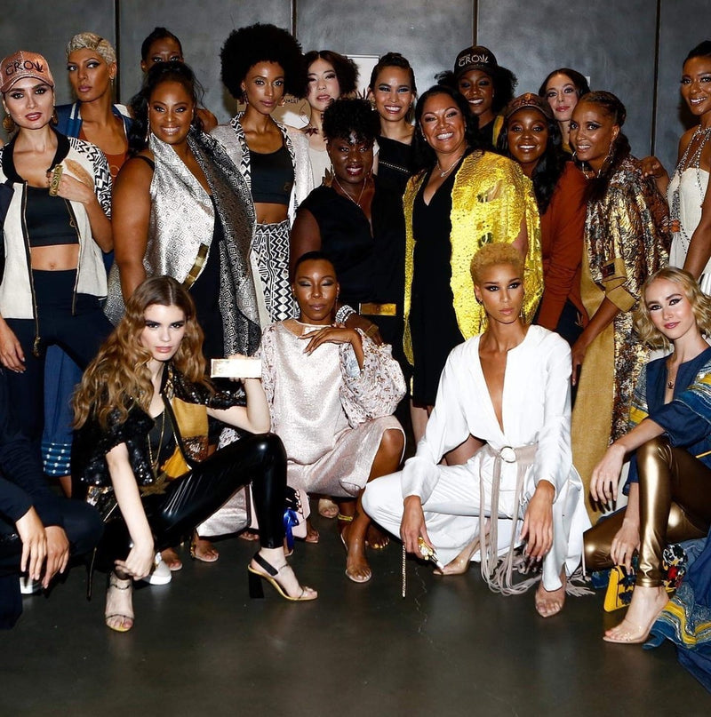 New York Fashion Week With Korto Momolu's Cannabis Collection