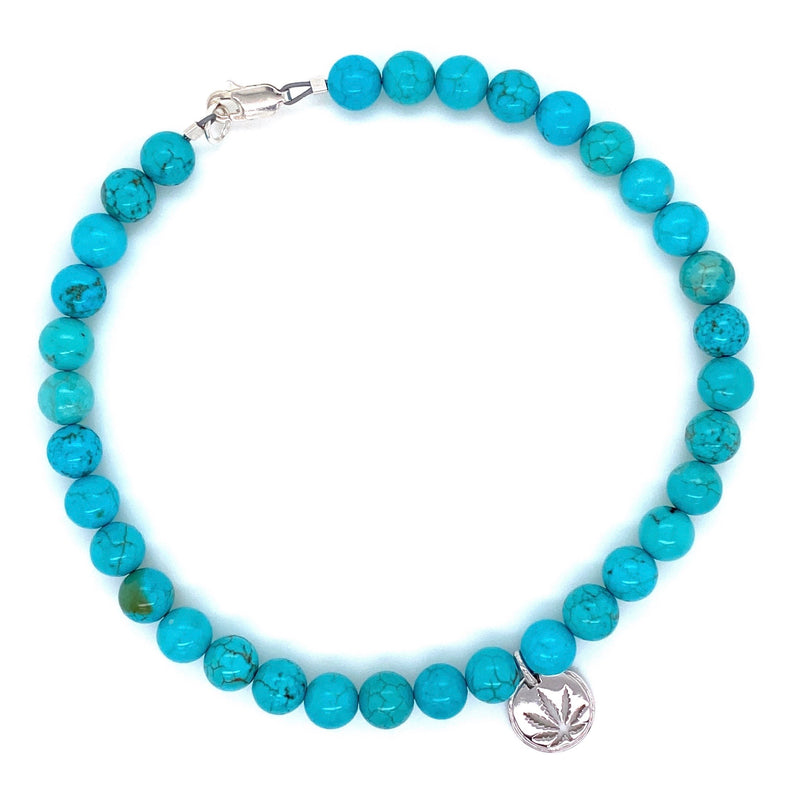 Turquoise Ankle Bracelet