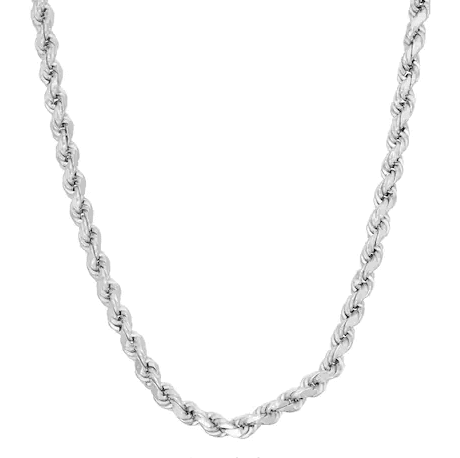 Sterling Silver Chain - Denver Rope