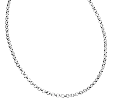 Sterling Silver Chain - Cable