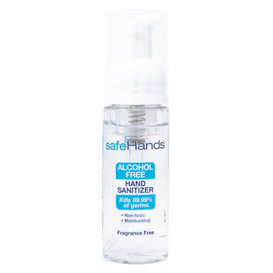 Alcohol Free Hand Sanitizer • Case of 24 -1.75oz Bottles