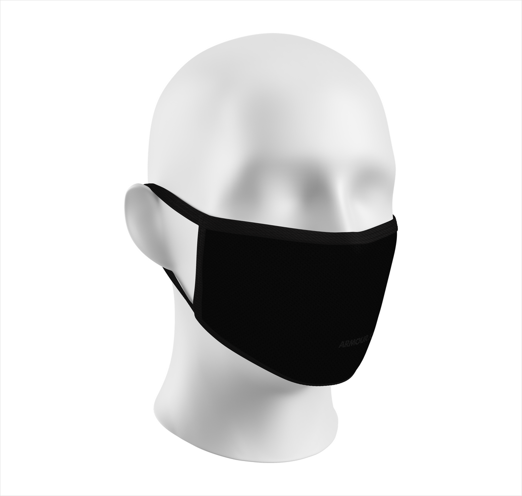 Re-usable Face Masks (Black)