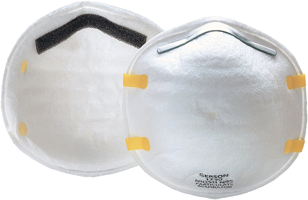 Cup Shaped FDA / NIOSH Approved N95 Respirator (20 ea)