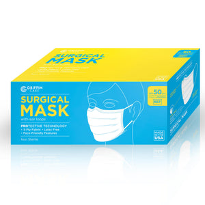 Earloop Face Masks | Level 3 | Made in USA | Case of 2,000 Masks