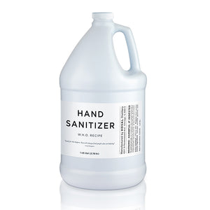 Hand Sanitizer • Case of 4 - 1 Gallon Jugs