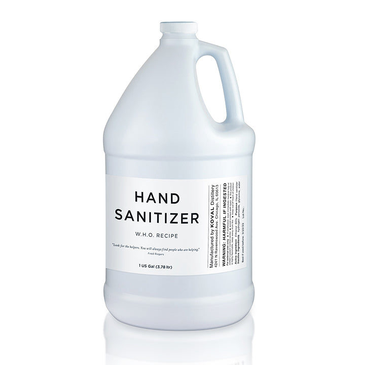 Hand Sanitizer Alcohol Based • Case of 4 - 1 Gallon Jugs