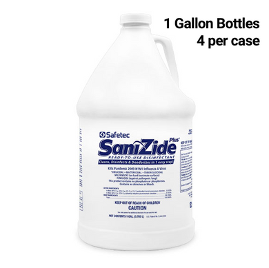 SaniZide Plus® Surface Disinfectant (4 gal bottles)