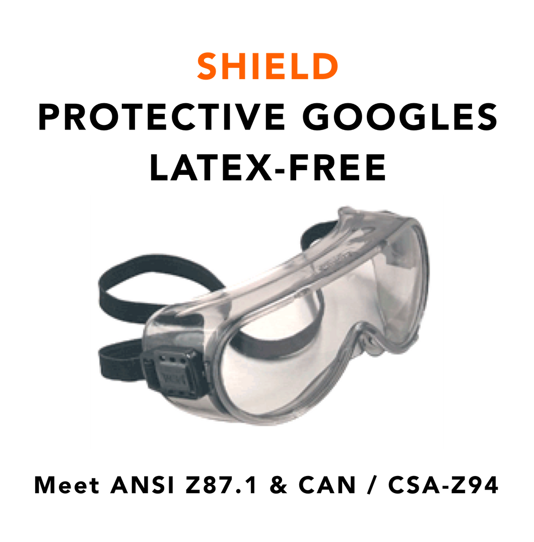 SHIELD · Protective Goggle (Case of 16 Goggles)