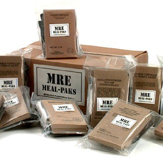 Emergency MRE's (Meals Ready-to-Eat)