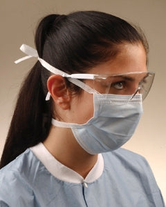 Fluid Resistant Surgical Tie-On Face Mask (50 per box, 6 boxes per case, Total 300ea)