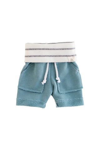 Aruba and Coastal Stripe Boy Shorts