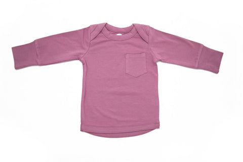 Super Soft Long Sleeved Top in Lavender