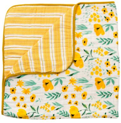 Buttercup Blossom Reversible Quilt