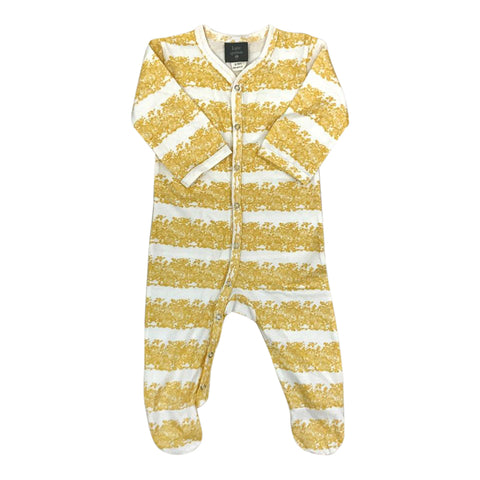 Classic Footie Jumpsuit in Maple