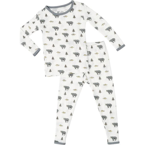 Bamboo Toddler Pajama Set in Creek