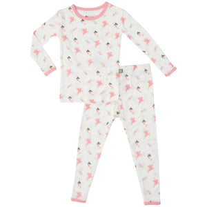 2c666b7dce Bamboo Toddler Pajama Set in Mythical – Bug   Bees